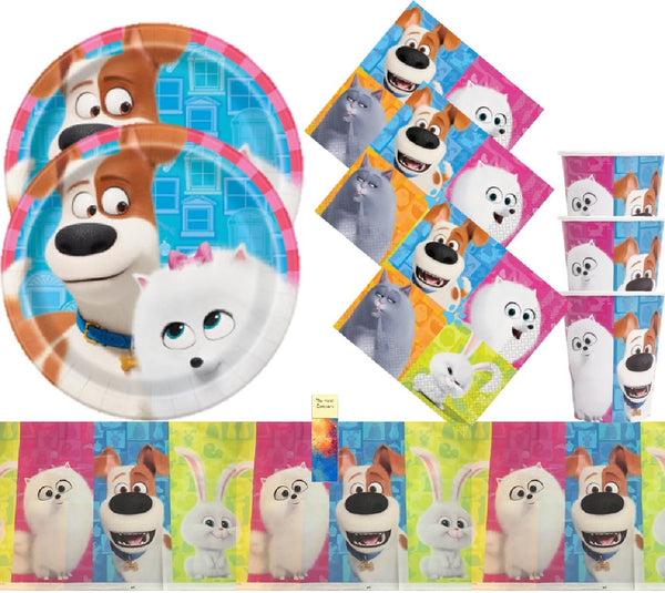 Secret Life of Pets Birthday Party Supplies