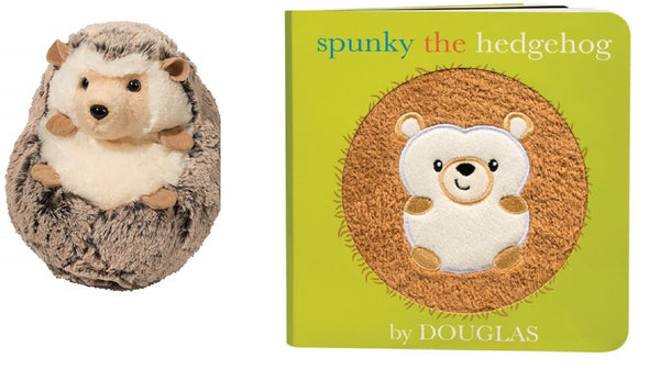Spunky The Hedgehog Cuddle Toy and Board Book
