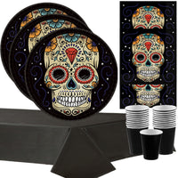 Sugar Skulls Halloween Party for 18 Guests