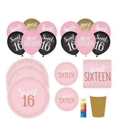 Sweet16birthdaypartysupplies
