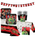 WWE Smash Birthday Party Supplies with Banner