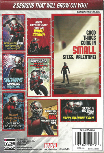 Ant-Man Valentines - 32 Count