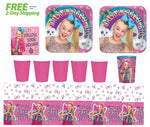 JoJo Siwa Party Supply Kit for 16  -  Shipped Fedex Express
