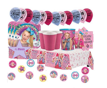 JoJo Siwa Birthday Party Supplies with Decorations
