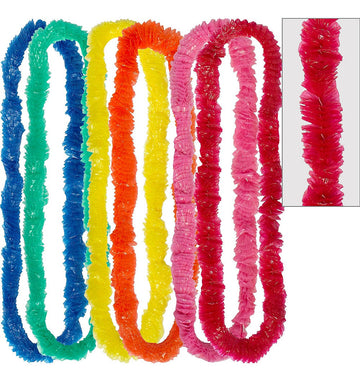 "Assorted Color Party Leis, 36"", 144 Ct."