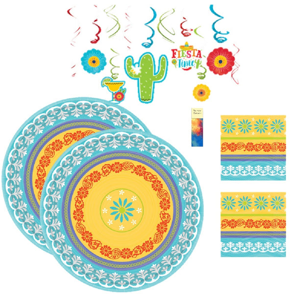Summer Fiesta Party with Decorations