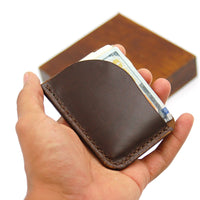 Minimalist Leather Wallet | Slim Wallet | Duke | Smiths & Kings