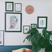 Clock | Minimal Design | Leather Clock | Home Goods | Smiths & Kings