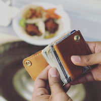 Slim Leather Wallet | Compact Wallet | Smiths & Kings