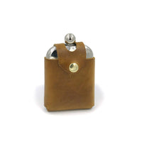 Leather Flask Cover | Leather Flask Holder | Stainless Steel Flask | Smiths & Kings