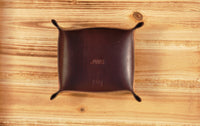 Leather Valet Tray | Catchall | Desk Organizer | Smiths & Kings