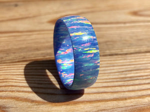 Aurora Solid Opal Ring