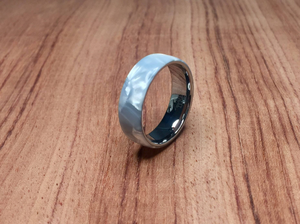 White Pearl Epoxy with Tungsten Core Ring