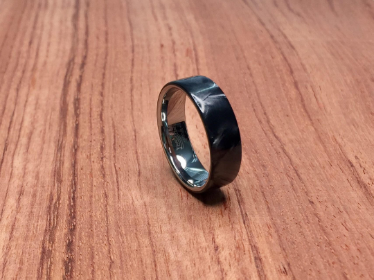 Black Pearl Epoxy with Tungsten Core Ring