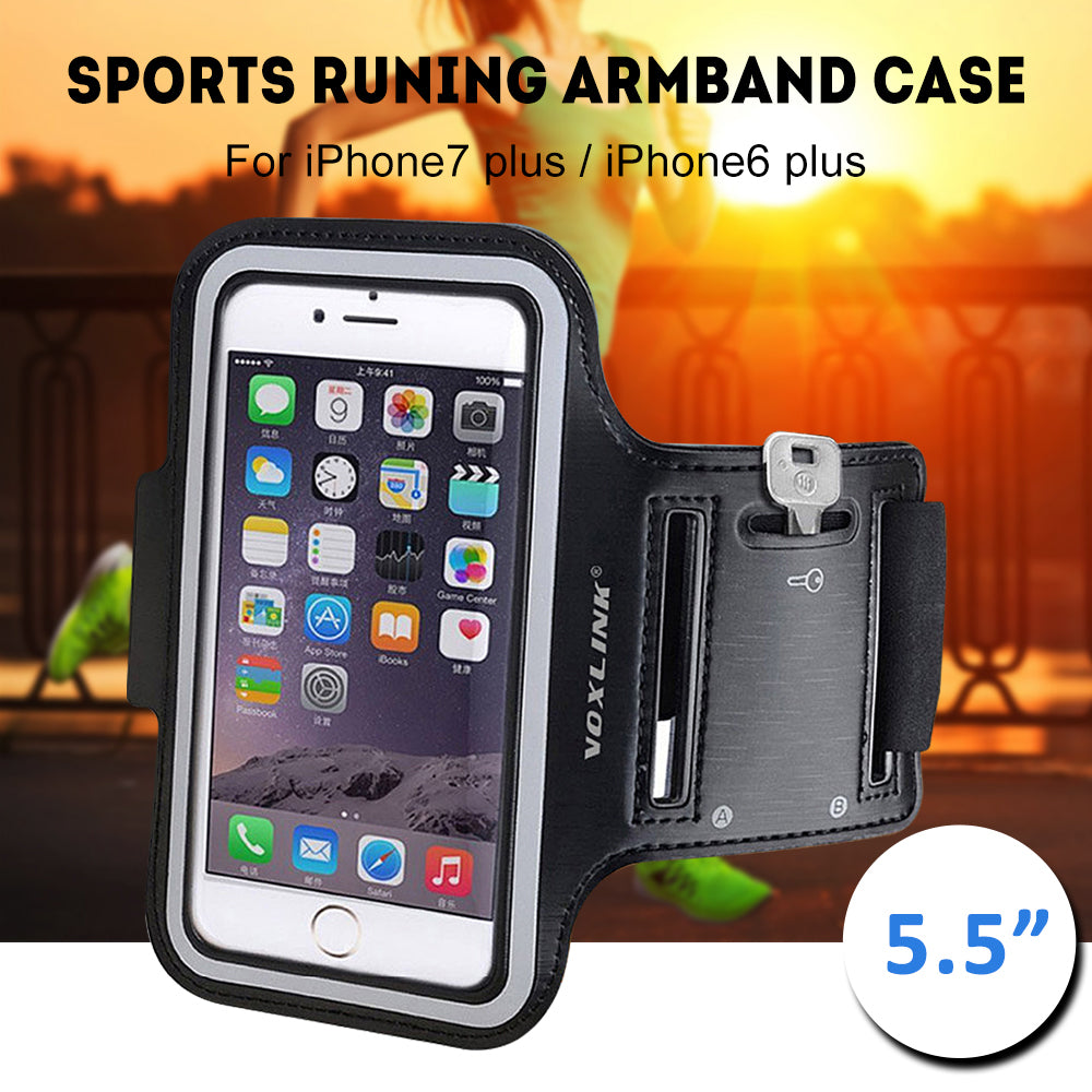 The Ultimate 5.5 inch Armband Sports Case for iPhone 8 Plus 7 plus 6s plus 6 plus