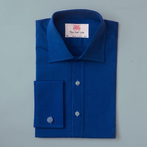 END ON END FRENCH BLUE SLIM SHIRT