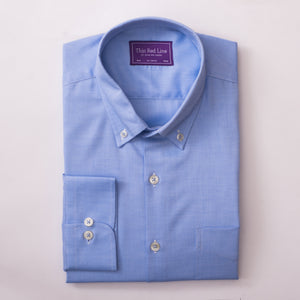 ROYAL OXFORD AZURE CASUAL SHIRT
