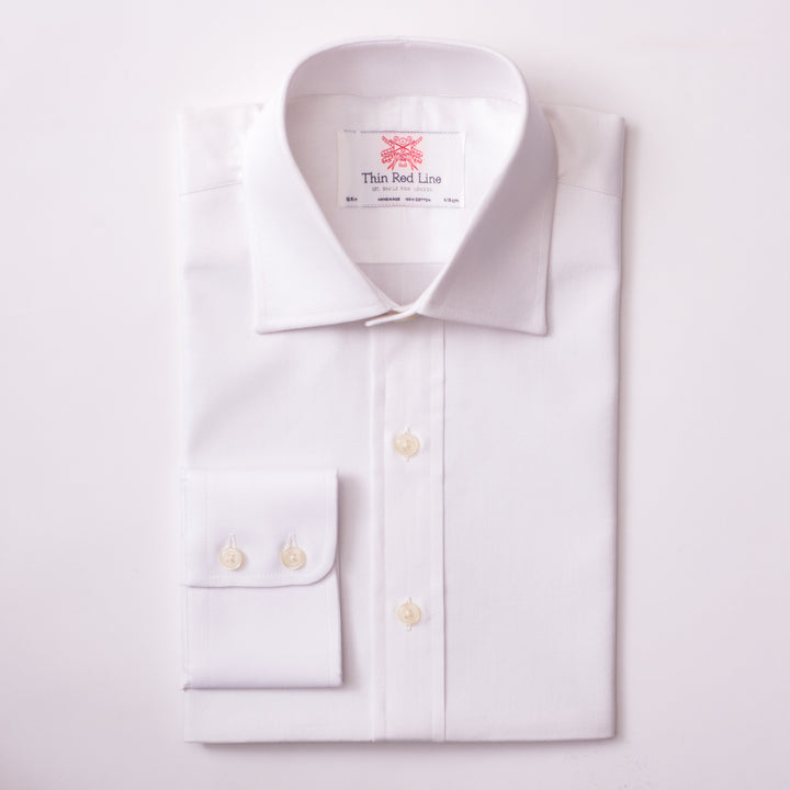 ROYAL OXFORD WHITE SLIM SHIRT