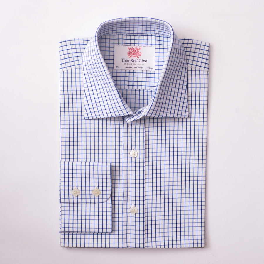 CITY CHECK ROYAL BLUE CLASSIC SHIRT