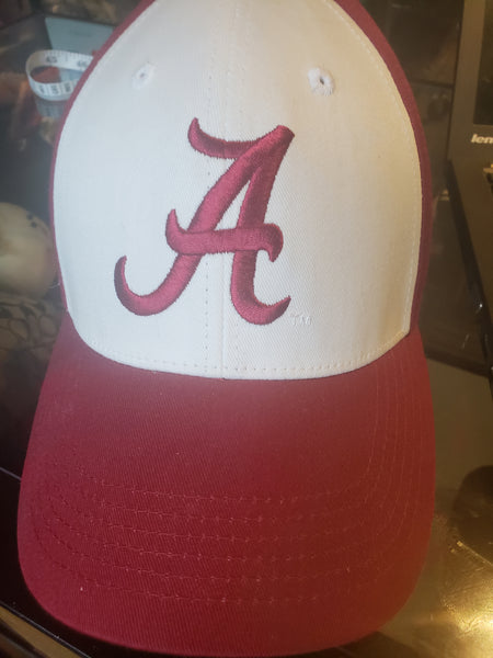 Alabama Crimson Tide Hat VTG Adjustable Velcro