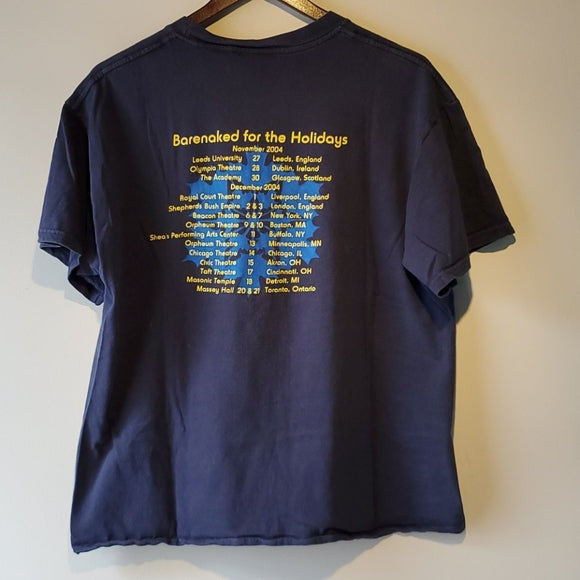 2004 Barenaked Ladies Barenaked for the Holidays Tour Shirt