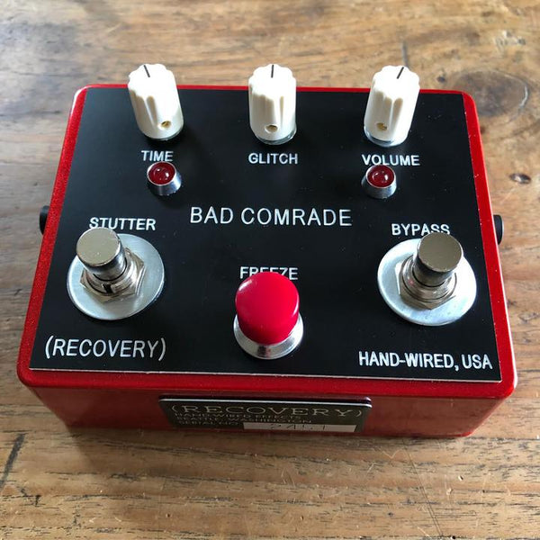 New! The RED Bad Comrade pedal is here!