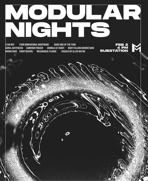 Join us for a night of experimental electronic music!