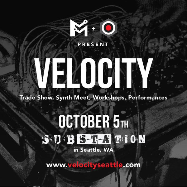VELOCITY, October 5th at The Substation