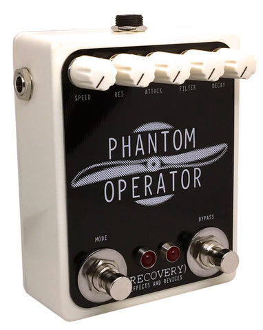 Phantom Operator guitar effects pedal cream enclosure