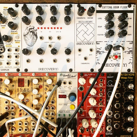 Recovery Effects and Devices modular eurorack synths