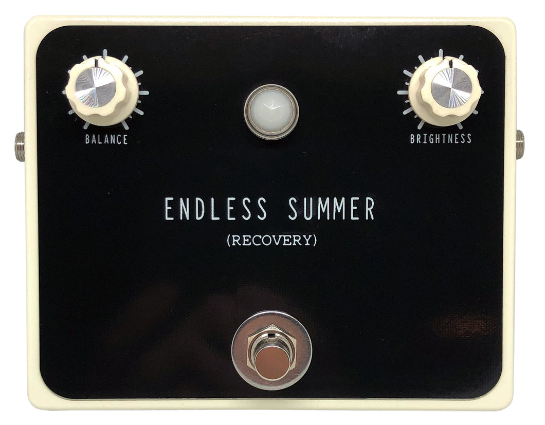 ENDLESS SUMMER PEDAL (Real Spring Reverb Booster)