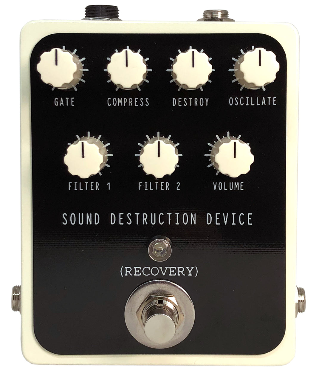 SOUND DESTRUCTION DEVICE PEDAL (Sonic Destruction, Filter, and Oscillation)
