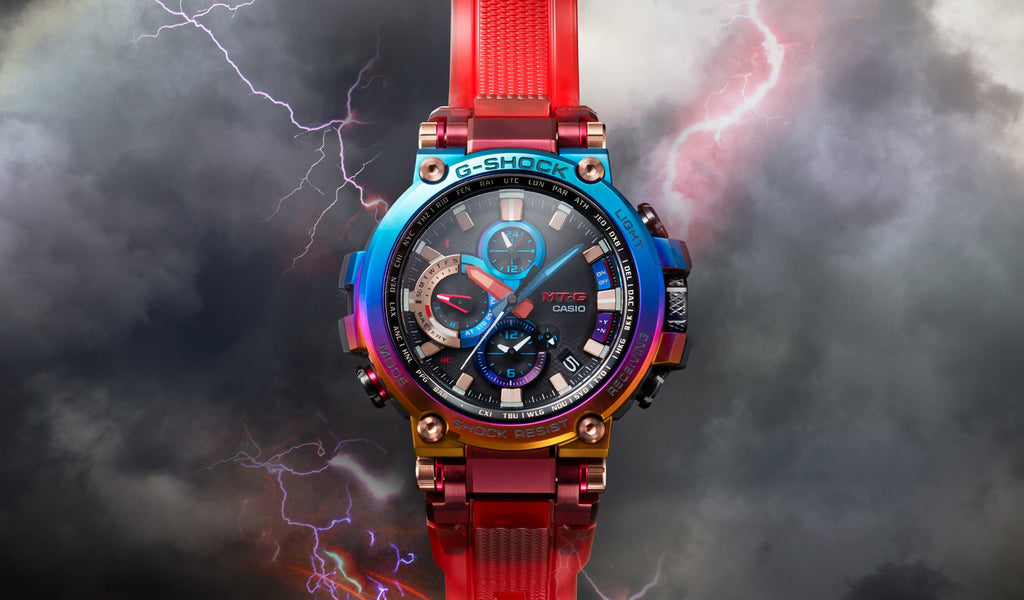 G-Shock Limited Edition MT-G Volcanic Lightning MTG-B1000VL-4A