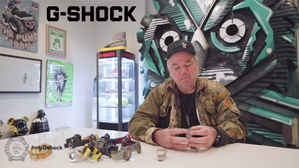 #MYGSHOCK Feat. Woody of Sneaker Freaker