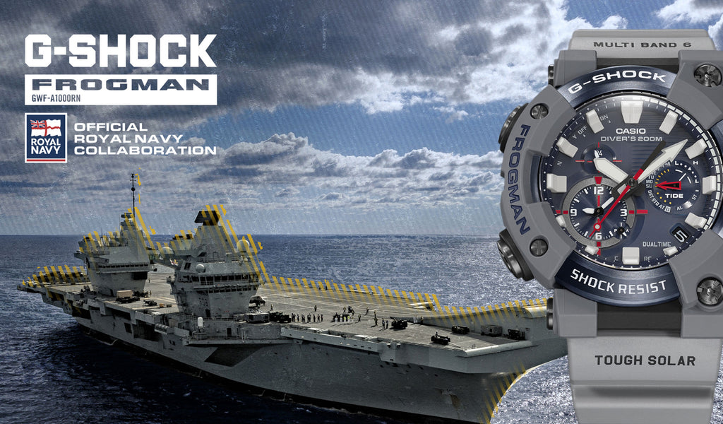 The G-Shock Royal Navy Frogman is the ultimate divers watch!