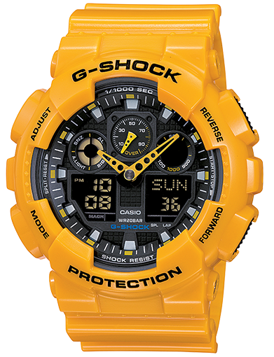 G-SHOCK DUO/CHRONO GA100A-9A
