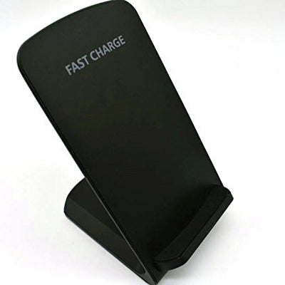 10W Fast Qi Wireless Charger Stand Qi-Enabled Devices (Black)