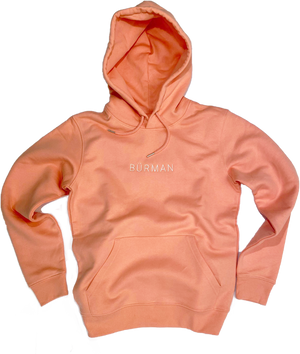 The Original (Hoodie) || Sunset Orange / White