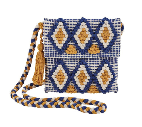 Blue Shoulder Bag (BSB3555)