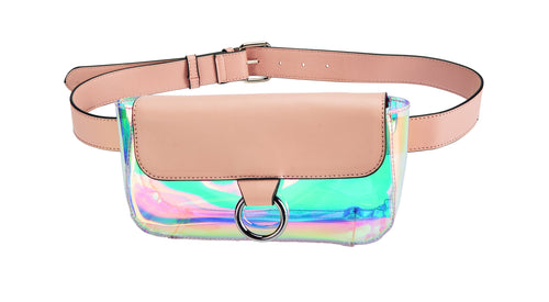 Clear Iridescent Belt Pouch (BSB3563)