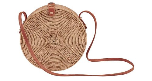 Handwoven Basket Bag (BSB3577)
