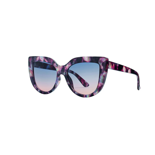 Oversized Cat Eye Tortoise Sunglass (BSG1083)