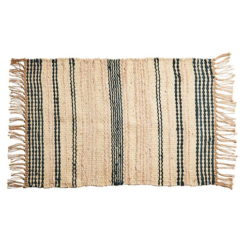 Stripe Area Rug  -  Natural/Tan  (Bsh4008)