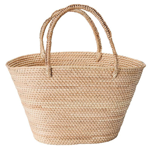 ARTISAN BASKET WITH DOUBLE HANDLES  (BSH5012)