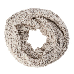Womens Plush Infinity Scarf W/ Gold Sequins (BSS1509)