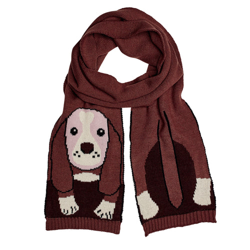 Machine Knit Animal Oblong Animal Scarf (BSS1673OS) -FS