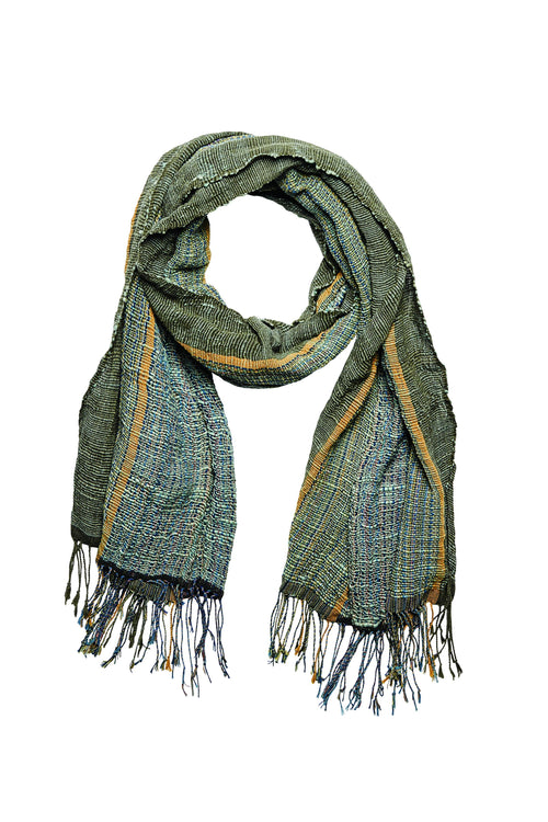 Plant dyed scarf (BSS2003)