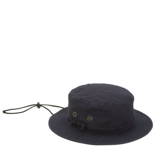 Mens Bucket Hat With Chin Cord And Wicking Sweatband (CTH3525)