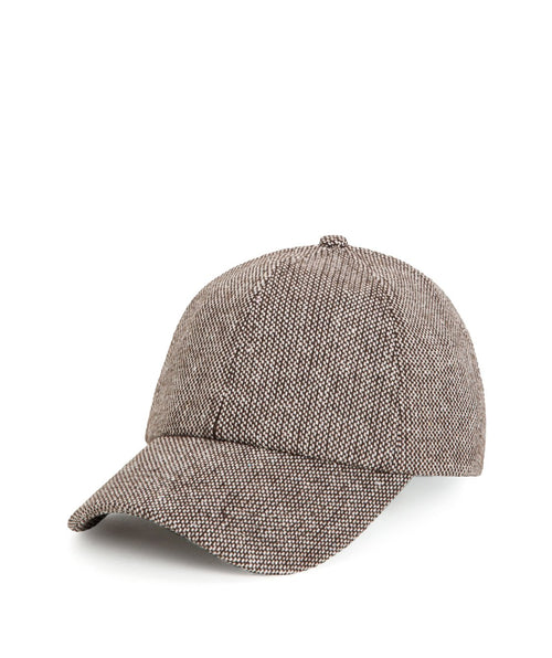 Womens Wool Blend Houndstooth Cap (CTH3702)