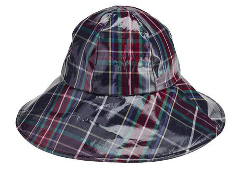 Plaid Rain Hat (CTH3734)